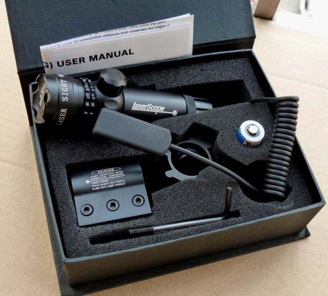 torche laser tactique