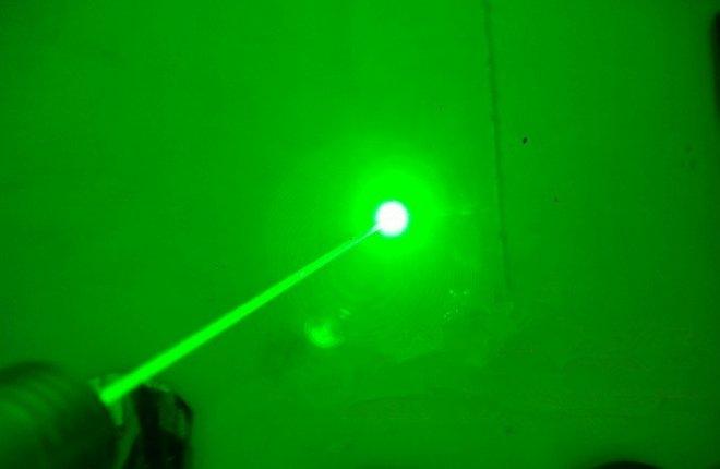 vert laser pointeur