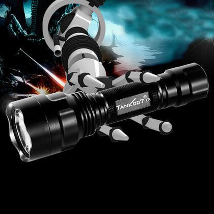 htpow acheter lampe de poche avec laser puissant vert lampe torche
