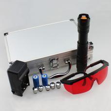Puissant 1500mw/2500mw/7000mw/10000mW Bleu Pointeur Laser