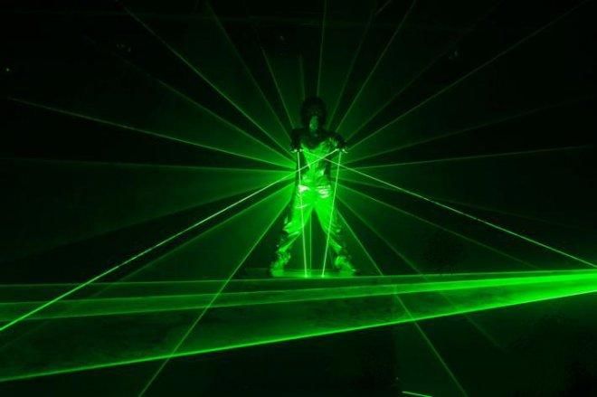 sabre laser vert