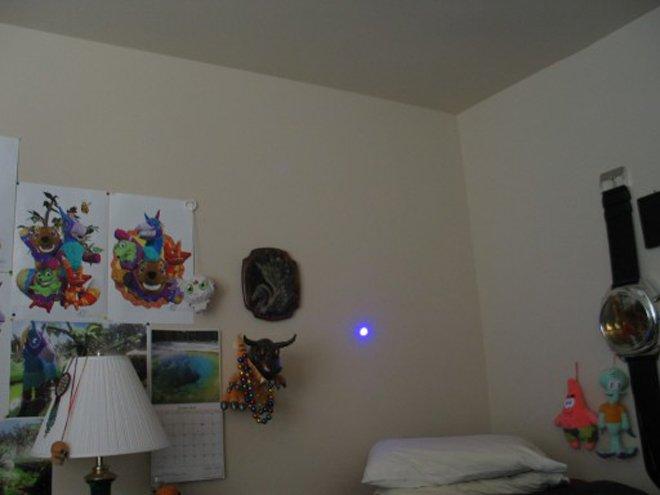 lumiere laser bleu 200mw