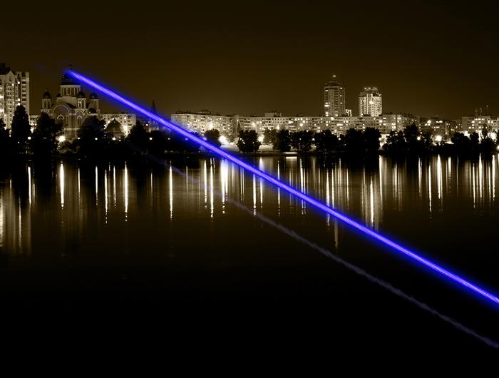 6000mW laser bleu haut de qualité