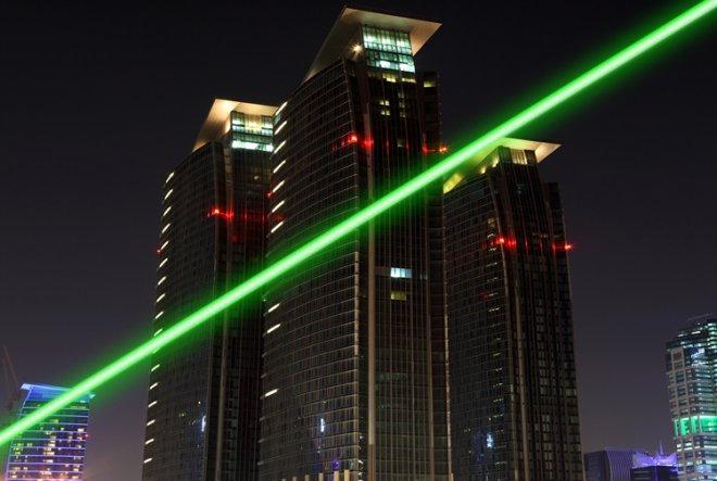 Nouveau grossier faisceau pointeur laser pas cher